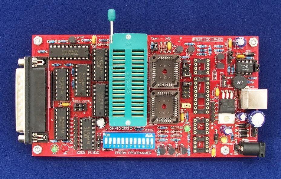 Программатор Willem PCB50