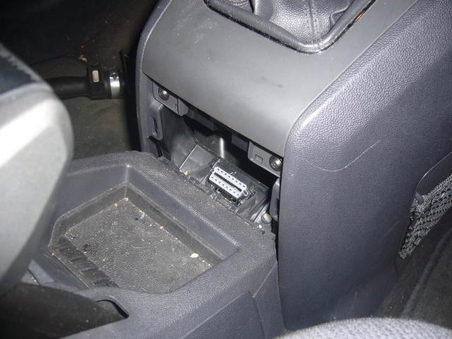 Диагностический разъем Opel Zafira B