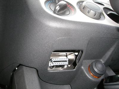 Диагностический разъем Opel Corsa D